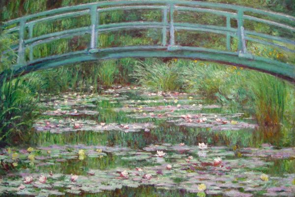 Японски мост от градината в Живерни - Клод Моне